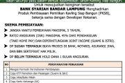 Pembiayaan Kavling Siap Bangun bersama Bank Syariah Bandar Lampung