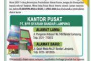 1 April, BPRS Kota Bandar Lampung Resmi Menempati Kantor Baru
